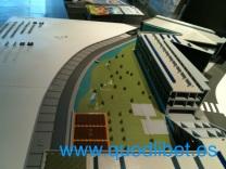 Maqueta tactil braille Centre Esplai El Prat Barcelona 4