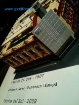Maqueta tactil braille Fàbrica del Sol Barcelona 1