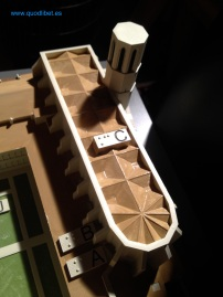 Maqueta tactil braille Monestir de Pedralbes 6