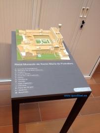 Maqueta tactil braille Monestir de Pedralbes 7