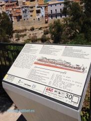 Panel táctil Villajoyosa 1 muralla rio