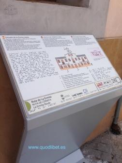 Panel táctil. Braille. Escuela de la Ermita Villajoyosa3