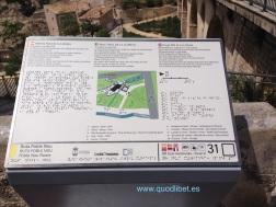 Panel táctil. Braille. Molí de la Lloveta. La Vila Joiosa