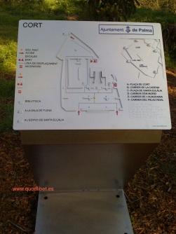 Plano 3d táctil braille CORT Ajuntament de Palma de Mallorca