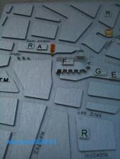 Plano 3d tactil braille Aldaia Valencia 5