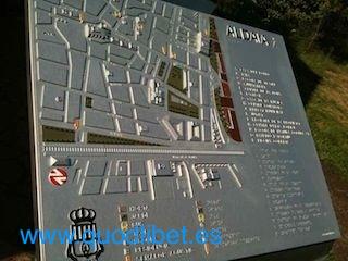 Plano 3d tactil braille Aldaia Valencia 6