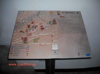 Plano 3d tactil braille Almagro Castilla la Mancha 3