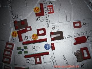 Plano 3d tactil braille Almagro Castilla la Mancha 4