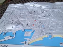 Plano 3d tactil braille Barcelona Turisme 1