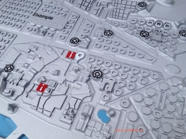 Plano 3d tactil braille Barcelona Turisme 2