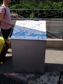 Plano 3d tactil braille Barcelona Turisme 6