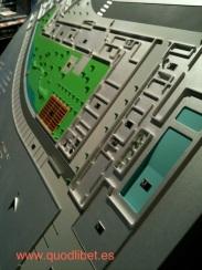 Plano 3d tactil braille Centre Esplai 2 Barcelona
