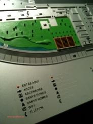 Plano 3d tactil braille Centre Esplai 3 Barcelona