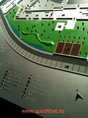 Plano 3d tactil braille Centre Esplai 4 Barcelona