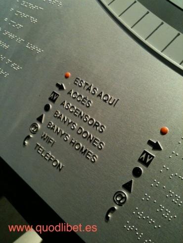 Plano 3d tactil braille Centre Esplai 5 Barcelona