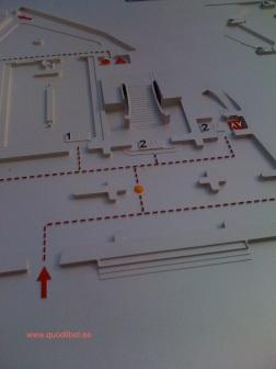 Plano 3d tactil braille CORT Ayuntamiento de Palma de Mallorca
