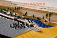 Plano 3d tactil braille Desenvocadura Riu Gaià Tarragona 5