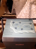 Plano 3d tactil braille La Pedrera Terrat Barcelona