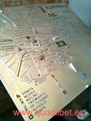 Plano 3d tactil braille Valdepeñas Castilla la Mancha 3